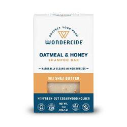 Wondercide Oatmeal & Honey Shampoo Bar for Dogs & Cats