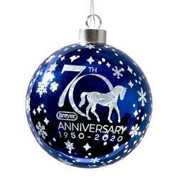 Breyer Glass Ball Ornament 2020