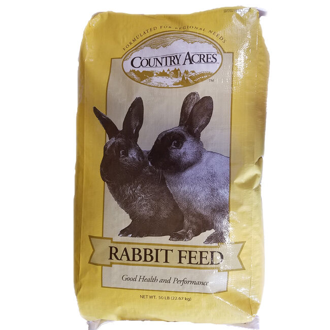 Country Acres 16% Rabbit Feed image number null