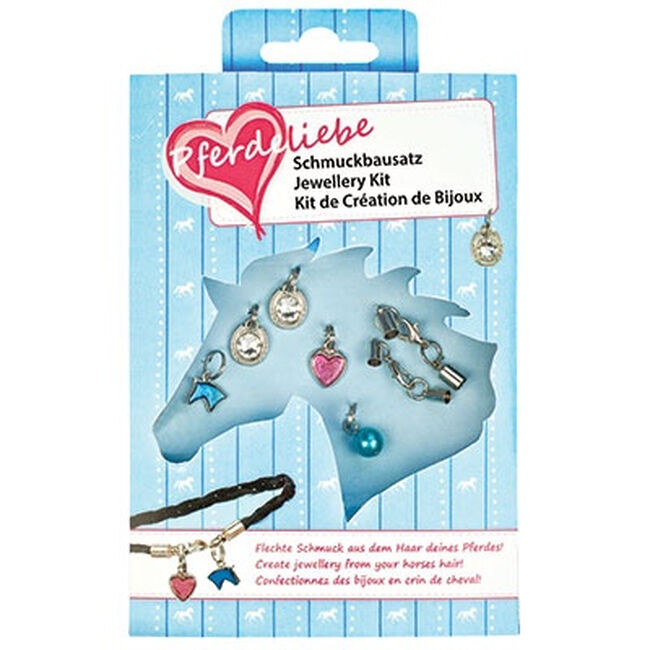 Kelley Equestrian DIY Glitz & Glam Horse Hair Jewelry Kit image number null