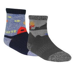Carhartt Boy's Gripper Crew Sock 2 Pack