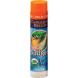 Badger Classic Organic Lip Balm - Tangerine Breeze