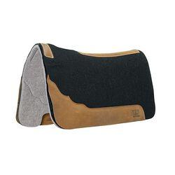 Weaver Contoured Two-Tone Felt Saddle Pad