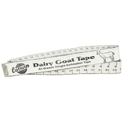 Dairy Goat Weight Tape