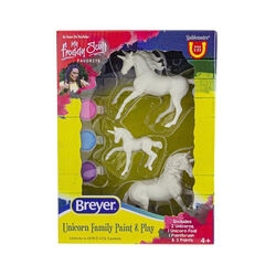Breyer Stablemates Unicorn Family Paint & Play