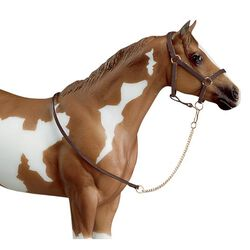Breyer Leather Halter With Lead Chain Traditional Series