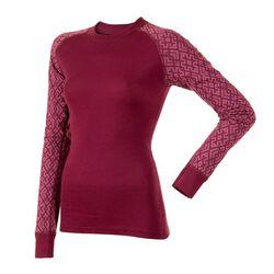 Janus Women's Crosshatch Patterned Wool Design Shirt