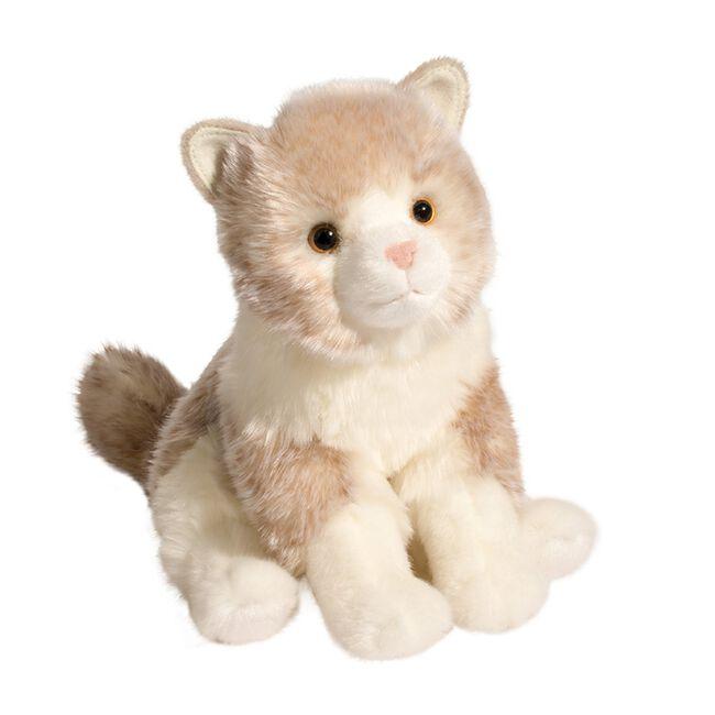 Douglas Gayla Cream Cat Plush Toy image number null