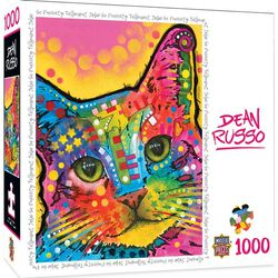 """""""So Purrty"""" Dean Russo 1000 Piece Jigsaw Puzzle"""