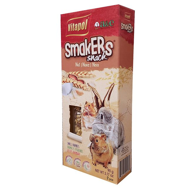 Vitapol Smakers Nut Snack for Small Animals image number null