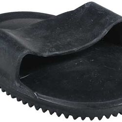Large Soft Rubber Curry Black