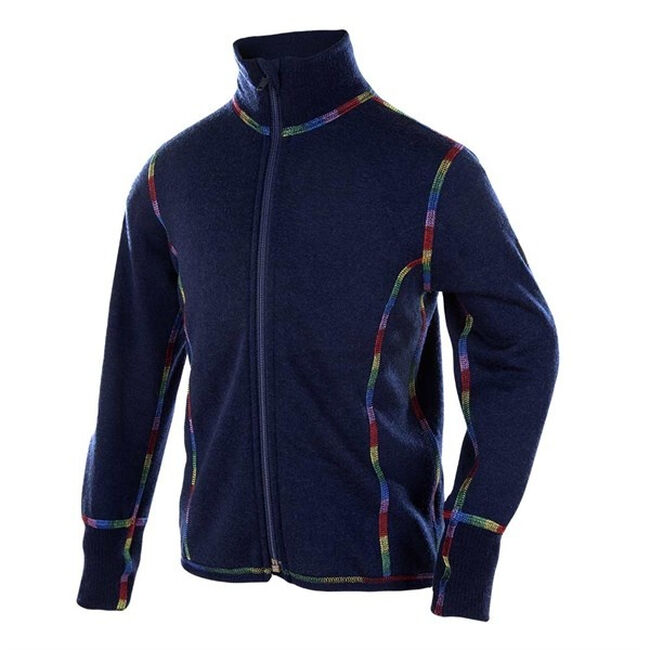 Janus Kids' Merino Wool Jacket - Blue image number null