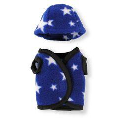 Crafty Ponies Vest/Helmet Cover - Blue
