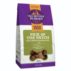 Old Mother Hubbard Grain Free Pick Of The Patch 16 oz Dog Treats