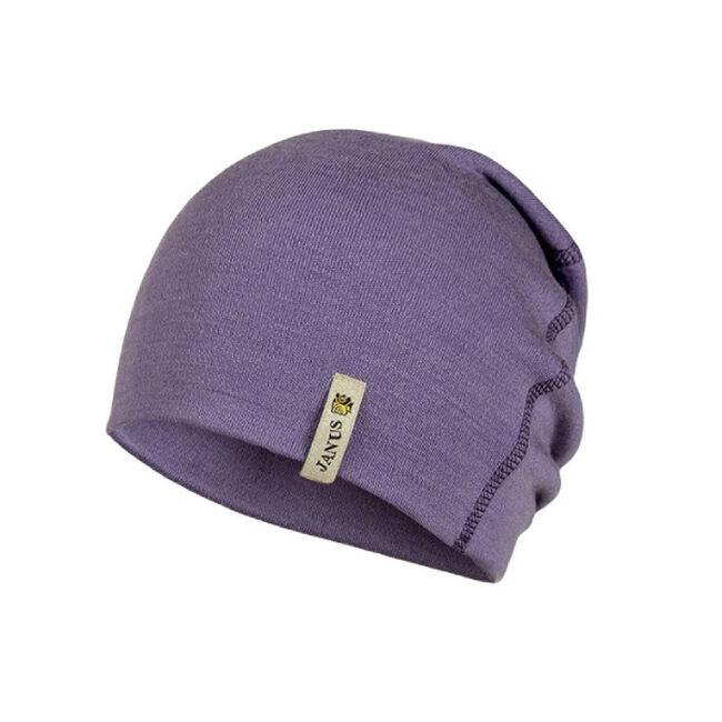 Janus Merino Wool Kid's Beanie - Purple image number null