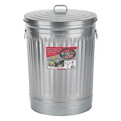 Behren's 31-Gallon Galvanized Steel Garbage Can with Lid