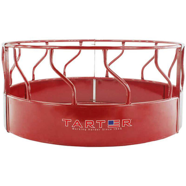 Tarter Titan Cattle Feeder With Hay Saver image number null