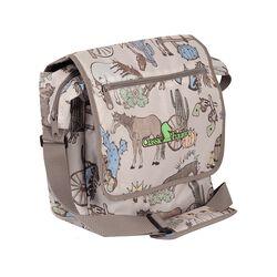 "Classic Equine 18"" Messenger Bag Frontier"