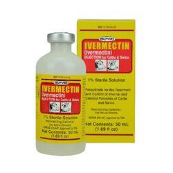 Durvet Ivermectin Injectable 1% 50 ml