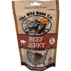 The Wild Bone Company Beef Jerky Natural Dog Treat