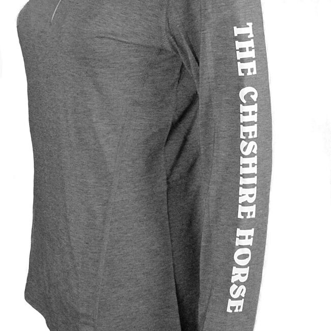 Cheshire Horse Ladies Charcoal Heather Carhartt Force 1/4 Zip Shirt image number null
