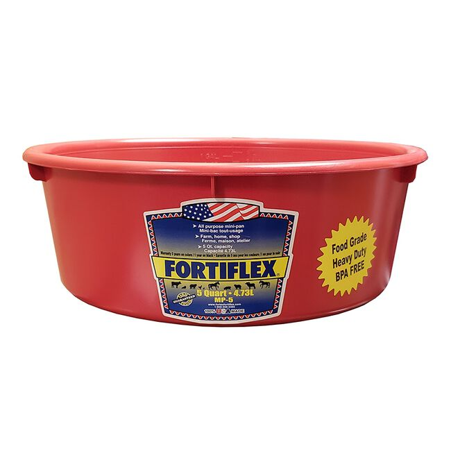 Fortiflex 5-Qt Mini Pan - Red image number null