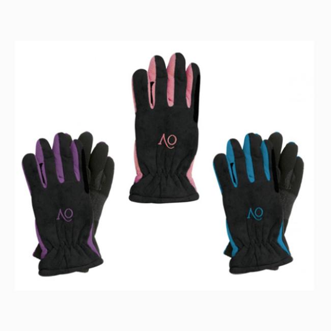 Ovation® Kid's Polar Suede Fleece Gloves -SM-Purple image number null