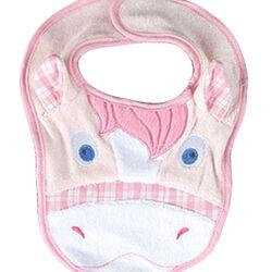 Jacks Horsey Baby Bib