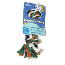 Petmate Booda Multi-Colored Rope Bone Dog Toy Large