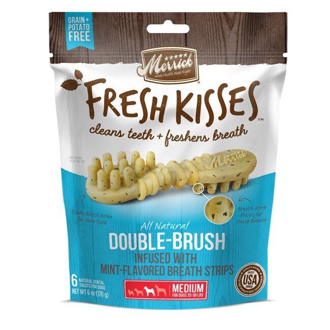 Merrick Fresh Kisses Dog Dental Treats Small Dog Mint 9 count image number null
