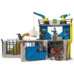 Schleich Large Dino Research Station Playset