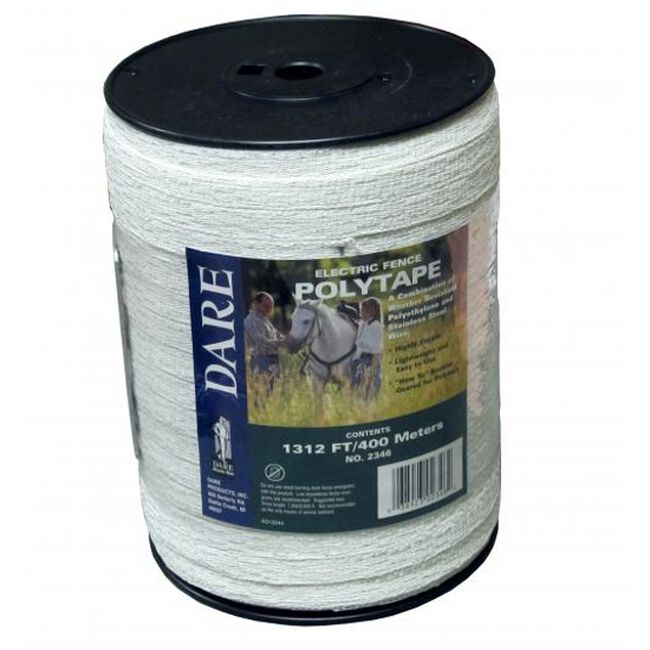 Dare Electric Fence Poly Tape 1/2 inch image number null