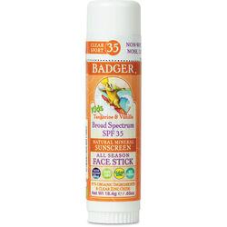 Badger Kids Clear Sunscreen Stick SPF 35