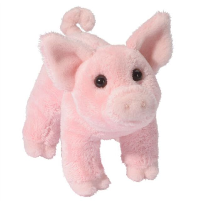 Douglas Buttons Pig Plush Toy image number null