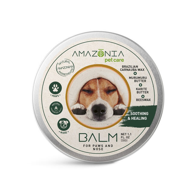 Amazonia Pet Care Balm for Nose & Paws image number null