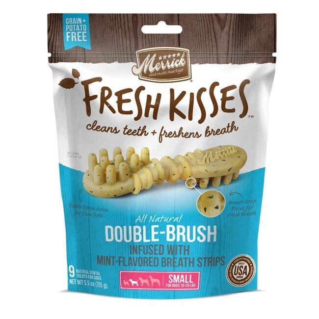 Merrick Fresh Kisses Dog Dental Treats Lage Dog Mint 4 count image number null